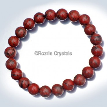 Red Jasper Power Healing Gemstone Bracelet