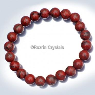 Red Jasper Power Healing Gemstone Bracelet