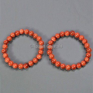 Sunstone Power Healing Gemstone Bracelet