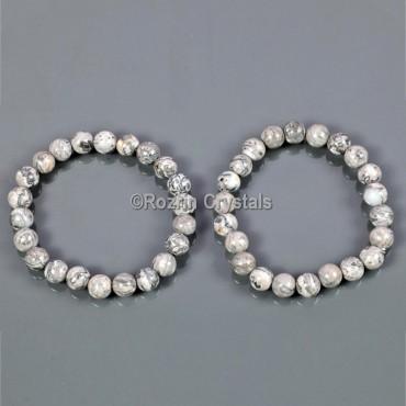 Howalite Energy Gemstone Bracelet