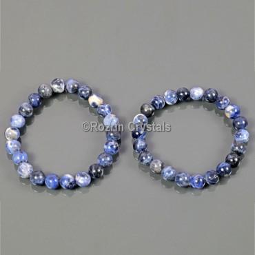Handmade Lapis Lazuli Gemstone Bracelet