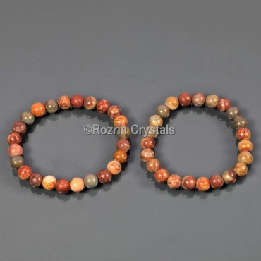 Picture Jasper  Power Healing Bracelet