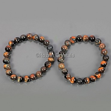 Dark Tiger Eye Gemstone Bracelet