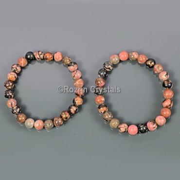 Rhodonite Power Healing Bracelet