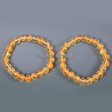 High Quality Citrine Bracelet