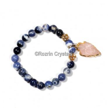 Lapis Lazuli With arrow Bracelet