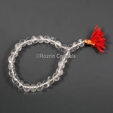 Fancy Clear Quartz Power Healing Gemstone Bracelet