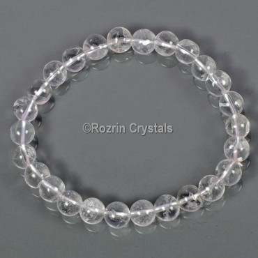 High Quality Clear Crystals Gemstone Brecelates
