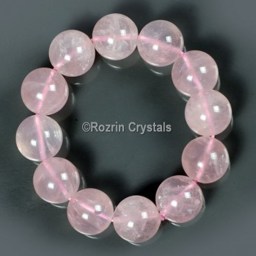 Rose Quartz  Healing Bracelet