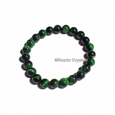 Green Tiger Eye Healing Bracelet
