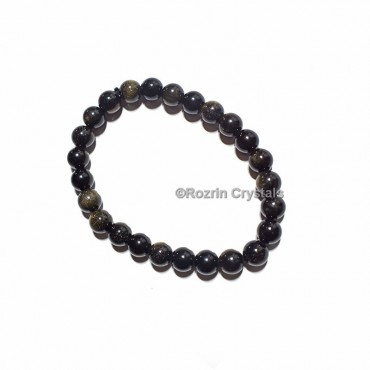 Golden Obsidian Healing Bracelet