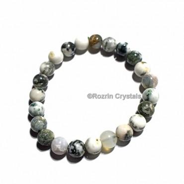 Tree Agate Healing Bracelet