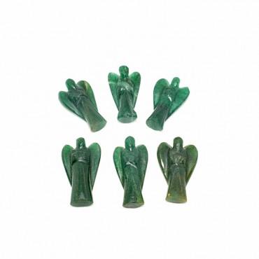 Green Jade Angel 1.50 inches