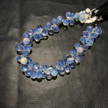 High Quality Opalite Quartz Faceted Drop Briolettes Beads,Opalite Quartz Gemstone Beads