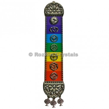 Printed Chakra Symbol DreamCatchers Wall Hanging