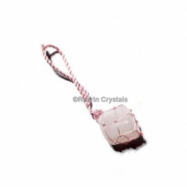 Rose Quartz Hanging