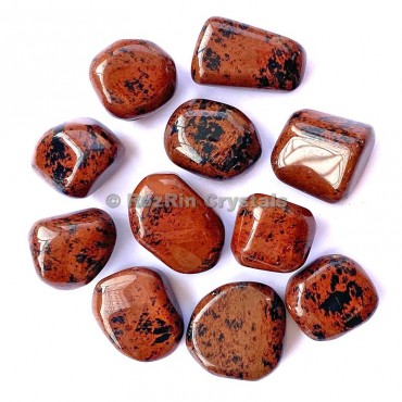 Mahagoni Obsidian Tumbled Stone