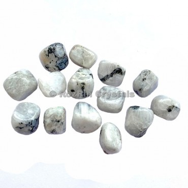 Rainbow Moonstone Tumbled