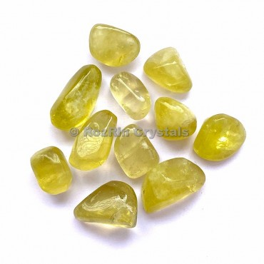 Lemon Quartz Tumbled