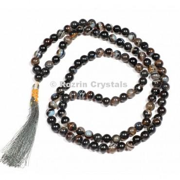 Black Onyx Sulemani Japa Mala