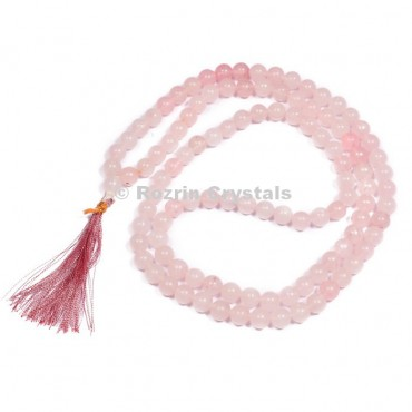 Rose Quartz Japa Mala