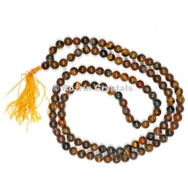 Tiger Eye Japa Mala