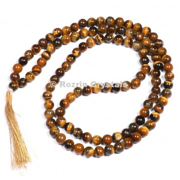 AAA Tiger Eye Japa Mala