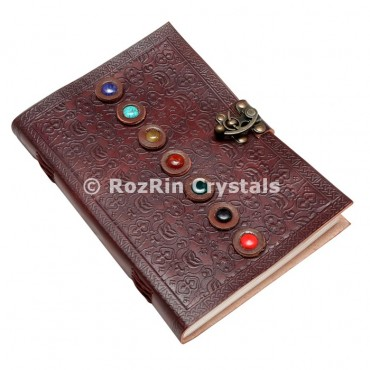 Chakra Stone Leather Journals