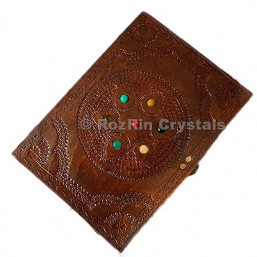 Seven Chakra Leather Journals