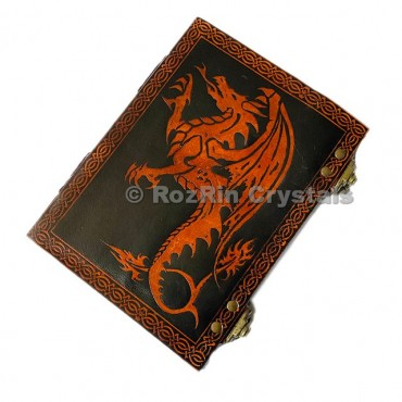 Unique Dragon Leather Journals