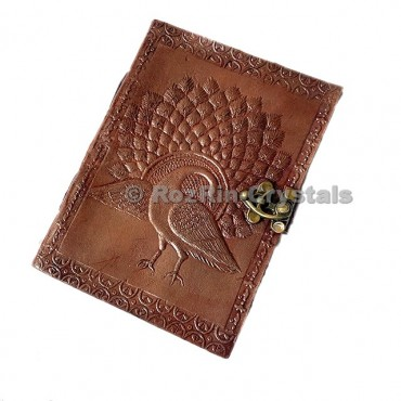 Peacock Leather Journals