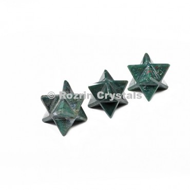 Blood Stone Merkaba Star