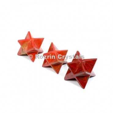 Red Jespar Merkaba Star