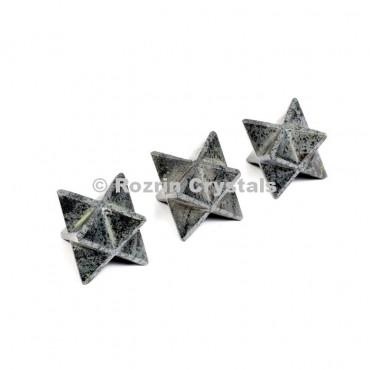 Hemetite Merkaba Star