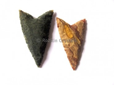 V Cut Native American Arrowheads