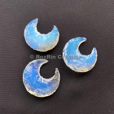 Opalite Moon  Crescent handmade