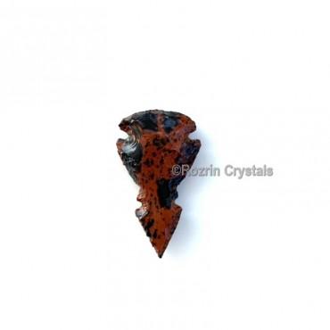 Mahagoni Obsidian Double Arrowheads