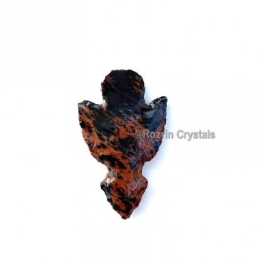 Mahagoni Obsidian manshape Arrowheads