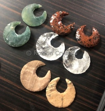 Mix Stone Hammered Moon