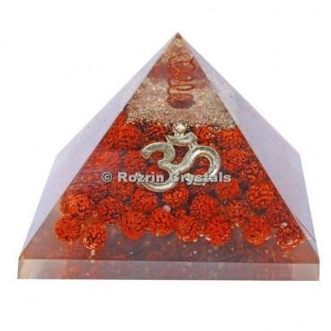 Rudraksha orgonite Pyramids