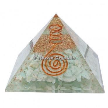 Amazonite Healing orgone Pyramids