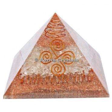 Crystal Quartz Energy Healing Orgone Pyramids