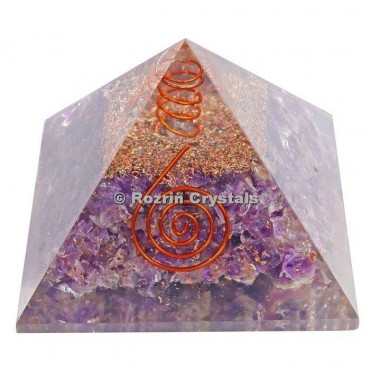 Amethyst Energy Healing Orgone Pyramids