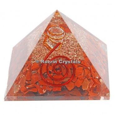 Red Jasper Healing Orgone Pyramids