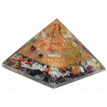 Chakra Metatrone Orgone Pyramid