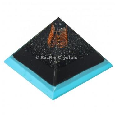 Black Obsidian Orgone Energy Pyramid