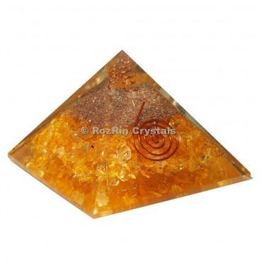 Citrine Energy Orgone Pyramid