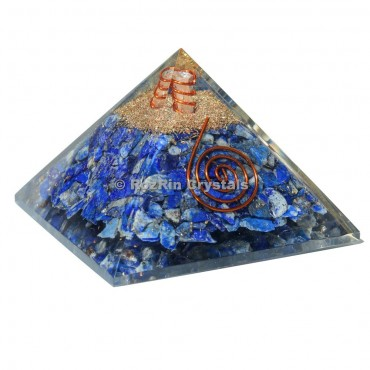 Lapis lazuli Energy Orgonite Pyramids