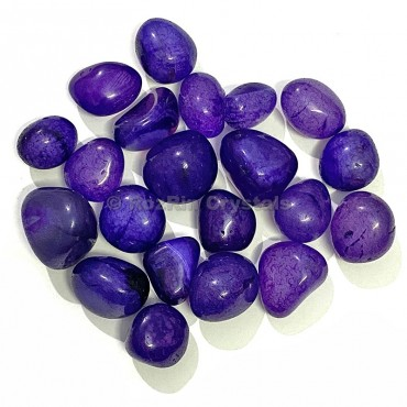 Purple Onyx Tumbled Stone