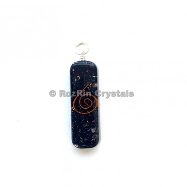 Black Tourmaline Orgonite Healing  Penants